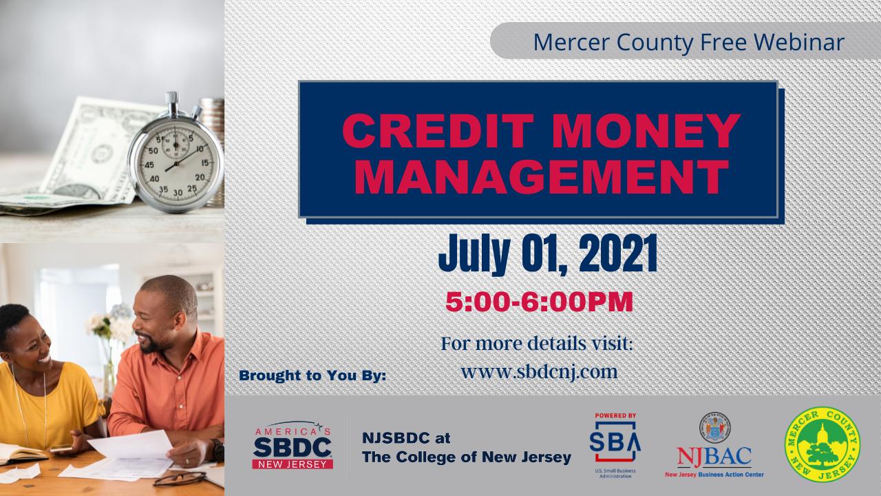 July 1 2021 - Credit Money Management