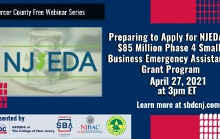 NJEDA's $85 Million Phase 4 Small Business Emergency Assistance Grant Program