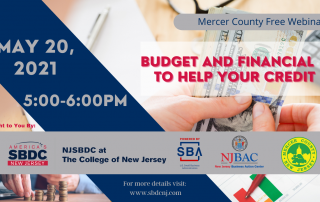 5-20-21 Budget & Financial to Help Your Credit