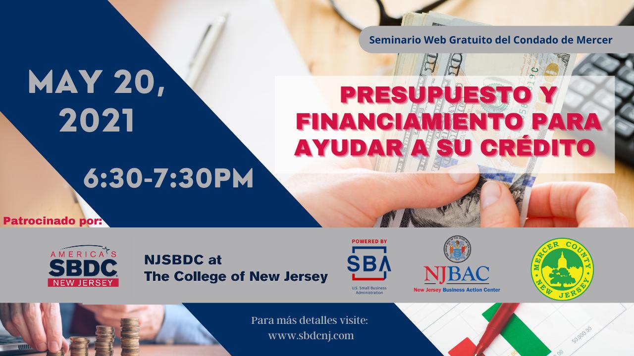 5-20-21 Presupuesto y Financiamiento para Ayudar a su Crédito