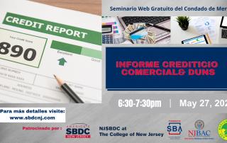 5-27-21 Informe Crediticio Comercial & DUNS