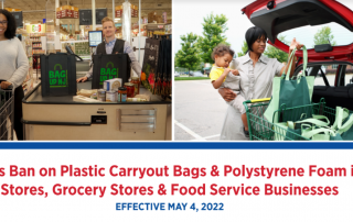 Count Down to May 2022's Ban - Plastic and Paper Carryout Bags...