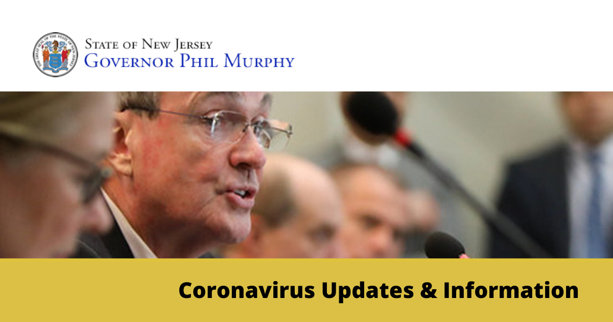 Governor Murphy COVID-19 Updates