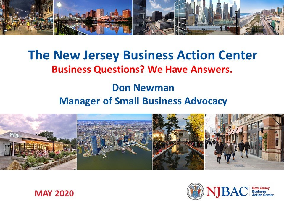 NJBAC – New Jersey Business Action Center