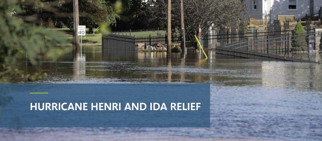 NJEDA Hurricane Henri and IDA Relief