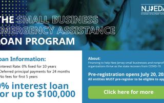 NJEDA Small Loan Assistance Program Phase 2