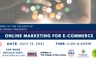 Online Marketing for E-Commerce - July 13th - 4:00 PM