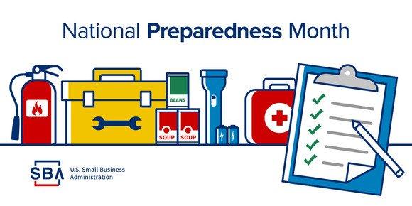 SBA - September is National Preparedness Month