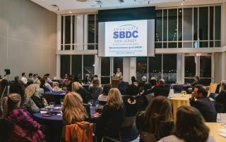 SBDC at TCNJ Changing of the Guard Networking Event