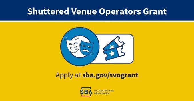SVOG - Shuttered Venue Operators Grant