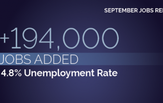 5 Numbers from the September Jobs Report