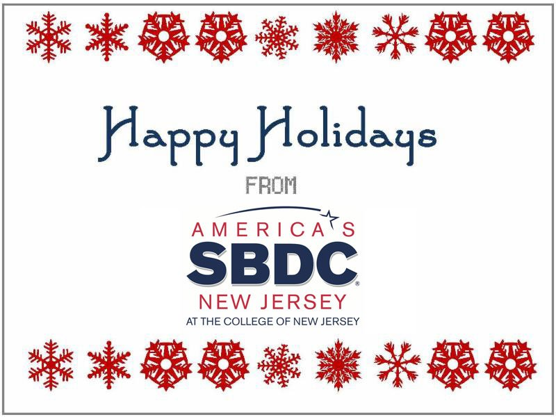 Happy Holidays from ASBDC at TCNJ