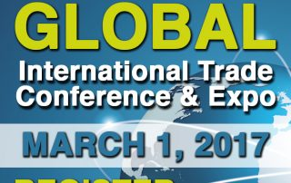 Let's Go Global International Trade Conference and Expo March 1, 2017