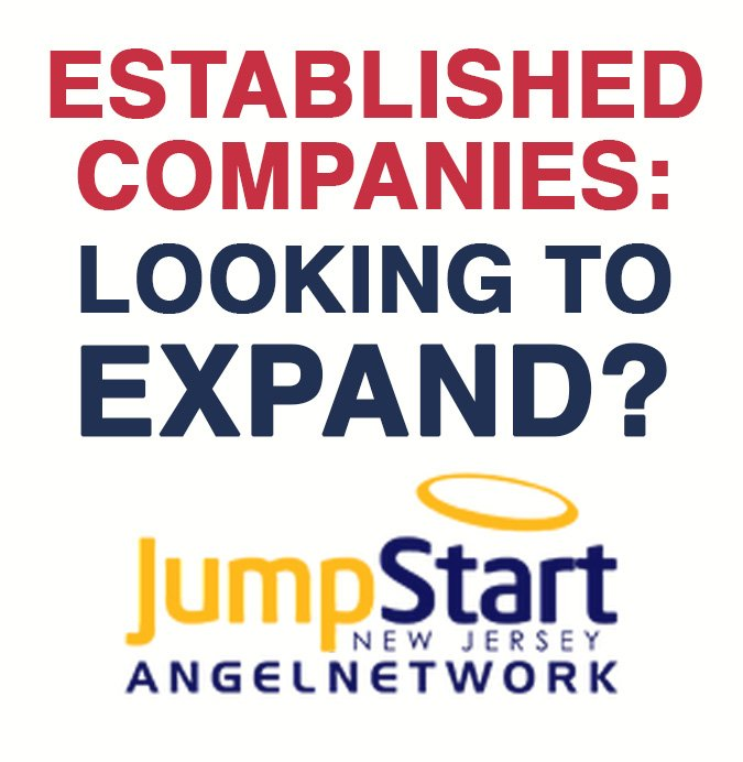 Established Companies Looking to Expand? JumpStart New Jersey Angel Network