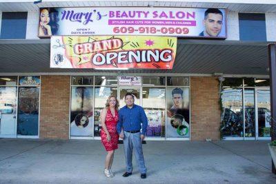 Mary's Beauty Salon Grand Opening