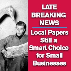 Local Papers Still a Smart Choice for Small Businesses