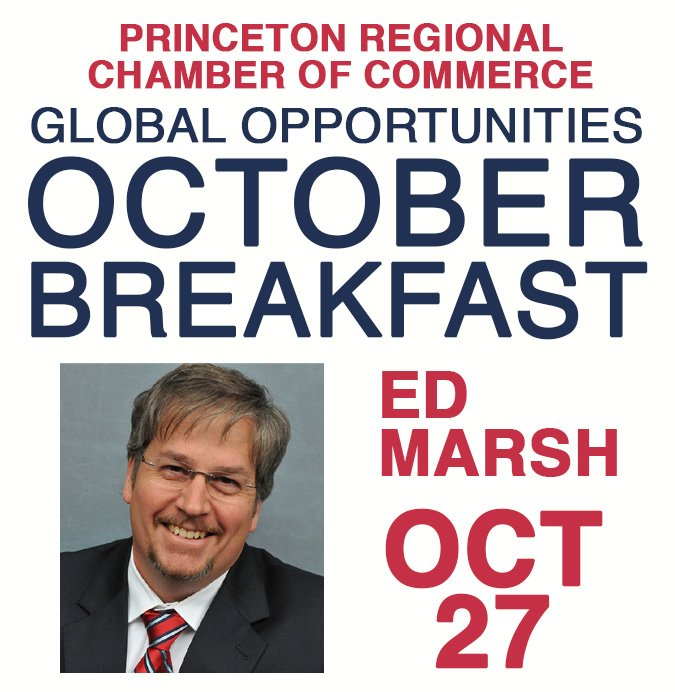 Princeton CC October Breakfast with Ed Marsh