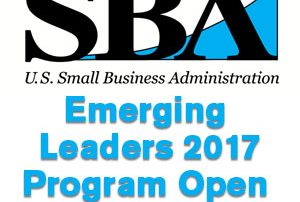 SBA Emerging Leaders 2017 Program Open for Applications