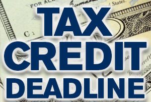 Tax Credit Deadline