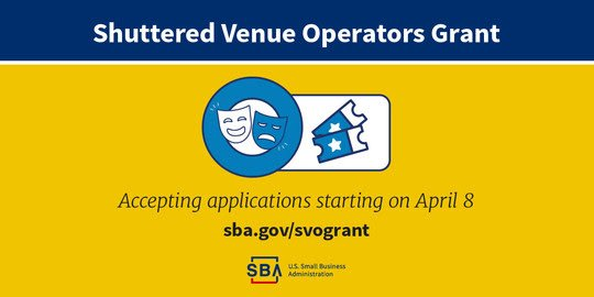 Shuttered Venue Operators Grant